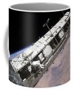 Astronaut Participates Coffee Mug