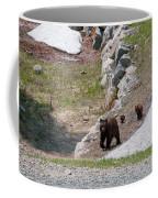 Black Bear Family Coffee Mug