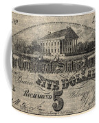 Confederate Banknote Coffee Mug