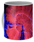 Fluorescent Coral In Uv Light Coffee Mug
