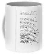 Samuel Taylor Coleridge Coffee Mug
