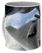 A B-2 Spirit Receives Fuel Coffee Mug by Stocktrek Images