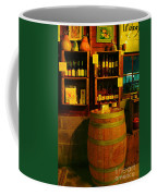 A Barrel And Wine Coffee Mug by Jeff Swan