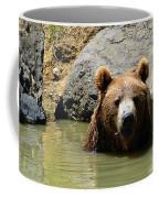 A Bear's Hot Tub Coffee Mug