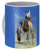 A Bedoueen Family In Wady Mousa Syrian Desert Coffee Mug