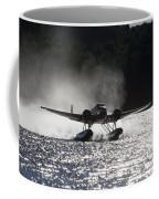 A Beechcraft D-18s Floatplane ,built Coffee Mug