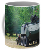A Belgian Army Piranha IIic With The Fn Coffee Mug