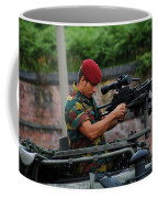 A Belgian Paratrooper Of The 1st Coffee Mug