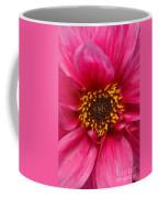 A Big Pink Flower Coffee Mug