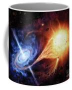 A Binary System Orbiting Near A Black Coffee Mug