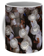 A Birds-eye View Of Women Dressed All Coffee Mug