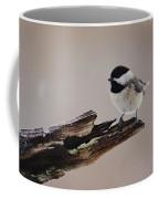 A Black-capped Chickadee Coffee Mug