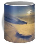 A Blizzard On Toviktinden Mountain Coffee Mug