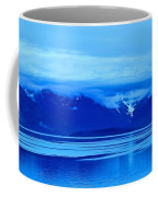 A Blue Slice Of Alaska Coast Coffee Mug