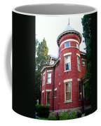 A Brick House With A Turret Coffee Mug