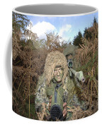 A British Army Sniper Team Dressed Coffee Mug