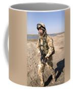 A British Army Soldier On Patrol Coffee Mug