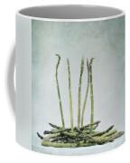A Bunch Of Asparagus Coffee Mug by Priska Wettstein