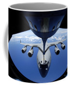 A C-17 Globemaster IIi Receives Fuel Coffee Mug by Stocktrek Images