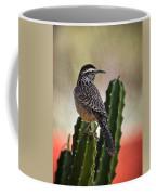 A Cactus Wren  Coffee Mug