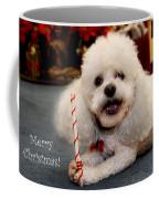 A Candycane For Puppy Coffee Mug