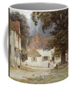 A Cart By A Village Inn Coffee Mug