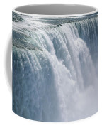 A Cascade Of Water Thunders Coffee Mug
