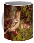 A Chaffinch At Its Nest Coffee Mug