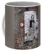 A Character On The Wall Coffee Mug by RicardMN Photography
