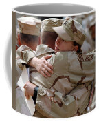 A Chief Master Sergeant Consoles Coffee Mug by Stocktrek Images