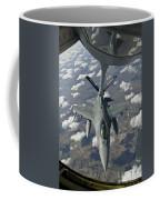 A Chilean Air Force F-16 Refuels Coffee Mug