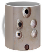 A Clogged Up 5 Point Electric Plug Point Coffee Mug