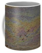 A Close-up Of A Parking Lot Oil Slick Coffee Mug by Joel Sartore