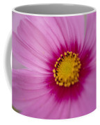 A Close-up Of A Pink Wildflower Coffee Mug