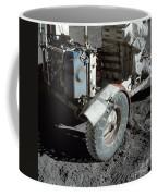 A Close-up View Of The Lunar Roving Coffee Mug