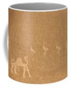 A Close View Of Ancient Petroglyphs Coffee Mug