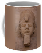 A Close View Of The Face Of Ramses IIs Coffee Mug
