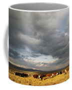 A Cloud-filled Sky Over A Yakima Valley Coffee Mug by Sisse Brimberg