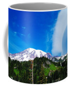 A Cloud Near Mt Rainer  Coffee Mug