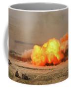 A Cloud Of Dust And Debris Rises Coffee Mug