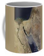 A Cloud Of Tan Dust From Saudi Arabia Coffee Mug
