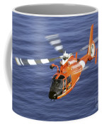 A Coast Guard Hh-65a Dolphin Rescue Coffee Mug by Stocktrek Images
