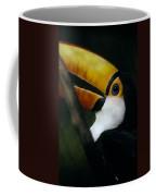 A Colorful Toco Toucans Blue Eye Coffee Mug