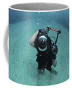 A Combat Photographer Familiarizes Coffee Mug