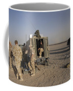 A Control Center For The Howitzer 105mm Coffee Mug