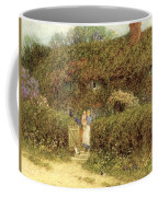 A Cottage At Freshwater Isle Of Wight Coffee Mug