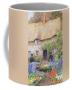 A Cottage Garden In Full Bloom Coffee Mug