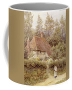A Cottage Near Haslemere Coffee Mug