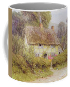 A Country Cottage Coffee Mug by Helen Allingham
