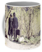 A Couple In The Woods Coffee Mug